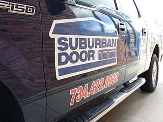 Suburban Door Homepage Experienced Service Team